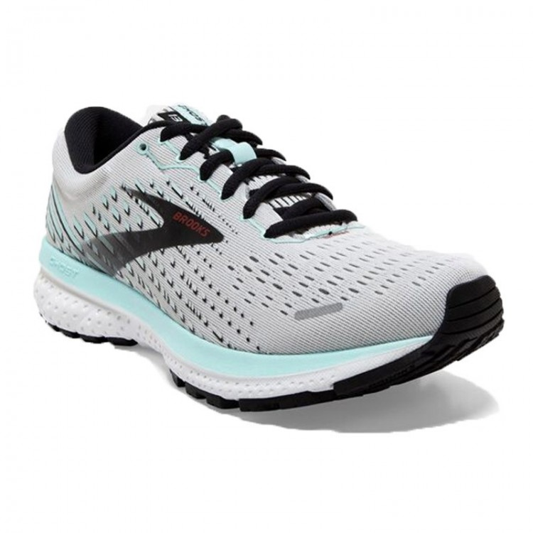 BROOKS GHOST 13 W GREY/BLUE