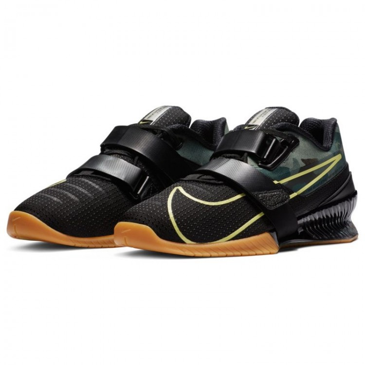 NIKE ROMALEOS 4 BLACK/GREEN