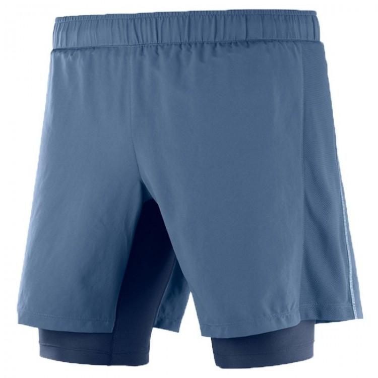 SALOMON AGILE TWINSKIN M PANTS BLUE