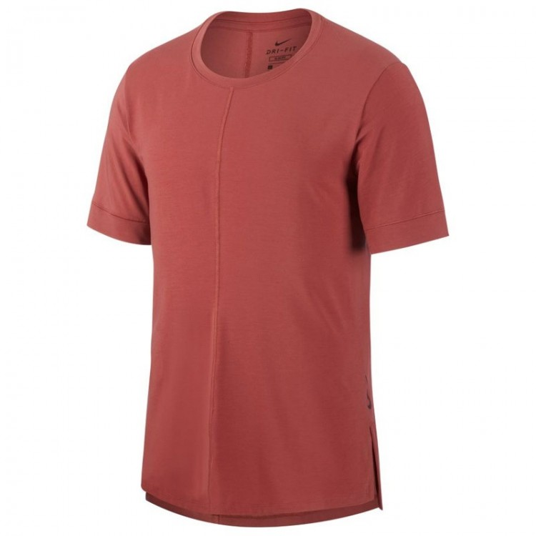 CAMISETA NIKE DRI-FIT GRANATE