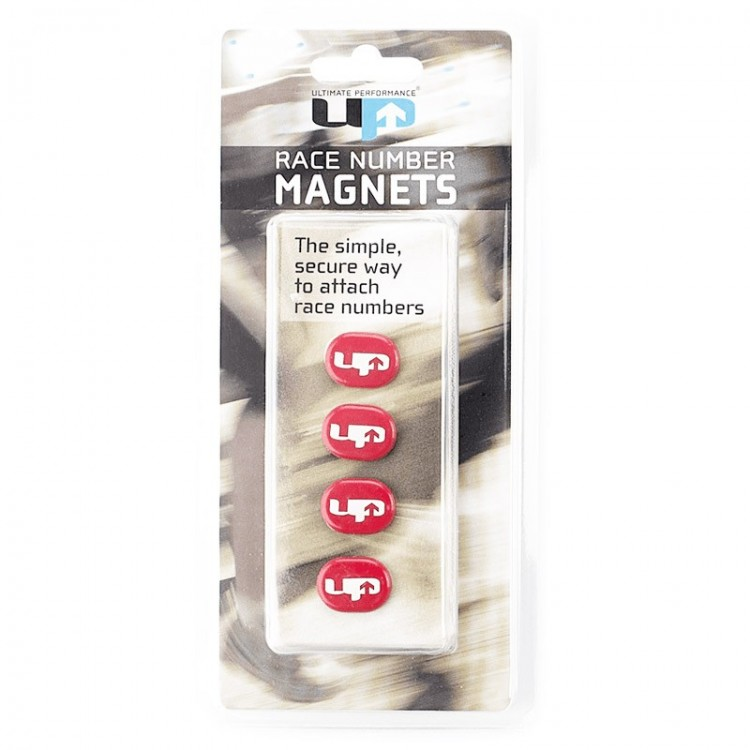 MAGNETS ULTIMATE RACE NUMBER RED