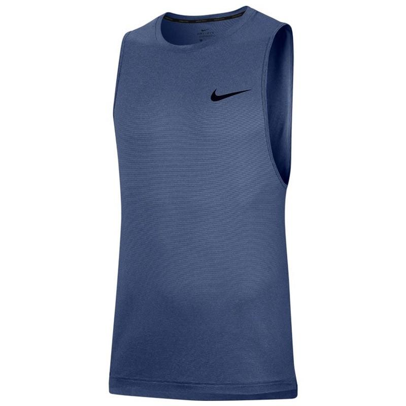 Lágrimas Extracción riqueza  ▷ Camiseta nike training tirantes azul por SOLO 29,99 €