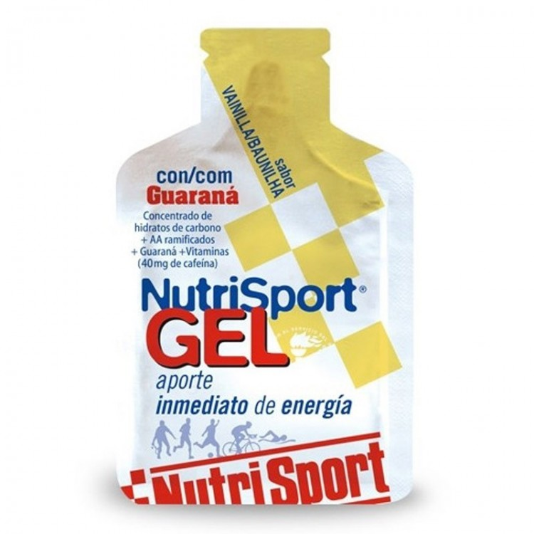 NUTRIGEL NUTRISPORT GUARANA VANILLA