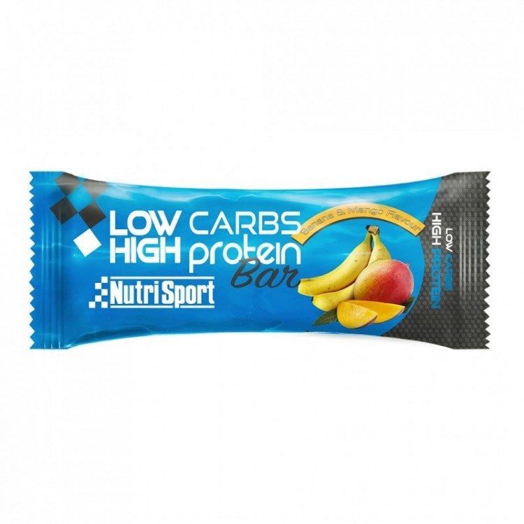 LOW CARBS HIGH PROTEIN BANANA AND MANGO BAR