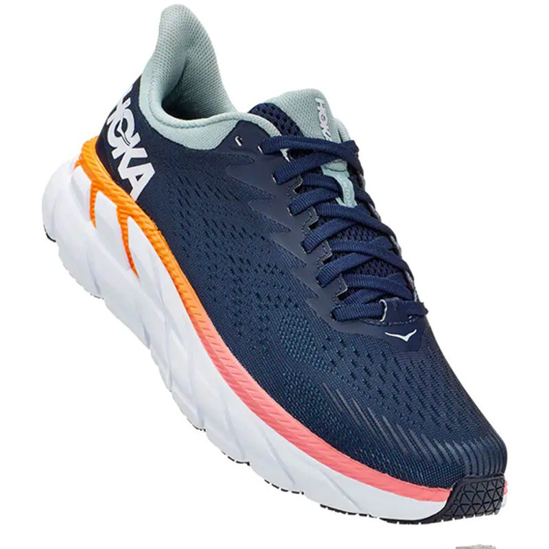 hoka clifton 7 w azul/multi