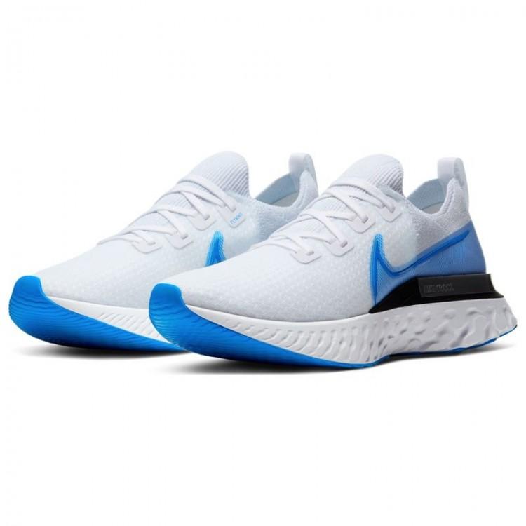 NIKE REACT INFINITY RUN FK WHITE/BLUE