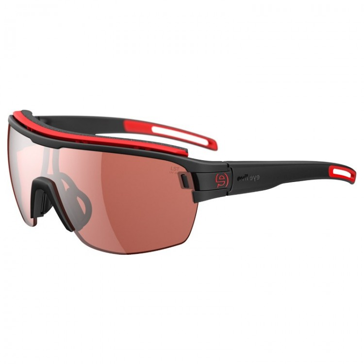 GAFAS EVIL EYE VIZOR HR PRO BLACK MATT RED S