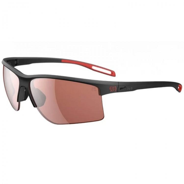 EVIL EYE EPYX-X BLACK MATT RED GLASSES