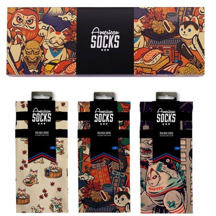 AMERICAN SOCKS JAPAN HERITAGE BOX