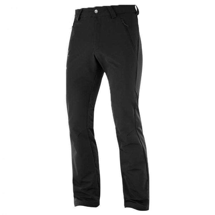 SALOMON WAYFARER STRAIGHT PANTS BLACK
