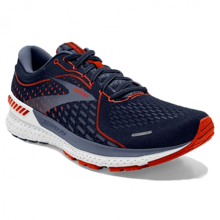 BROOKS ADRENALINE GTS 21 BLUE/RED