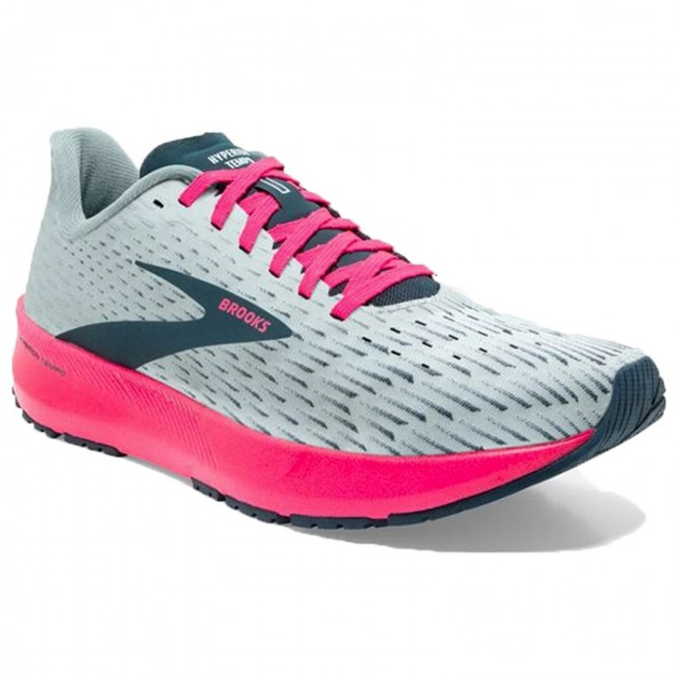 BROOKS HYPERION TEMPO W GREY/PINK