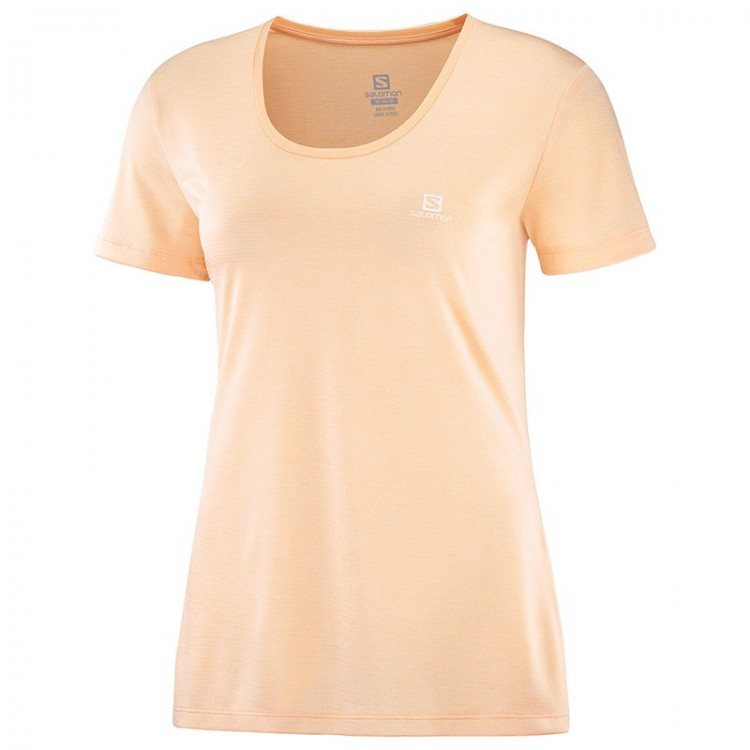 SALOMON AGILE W ALMOND T-SHIRT