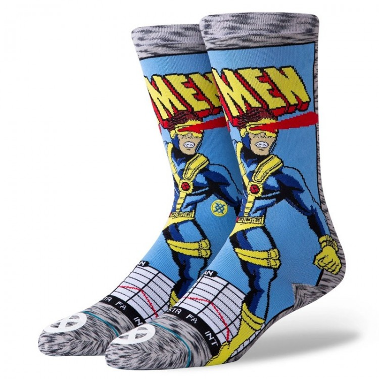 STANCE CYCLOPS COMIC SOCKS