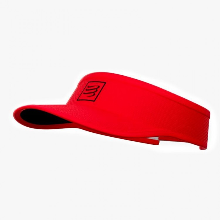 VISERA COMPRESSPORT ROJO/NEGRO
