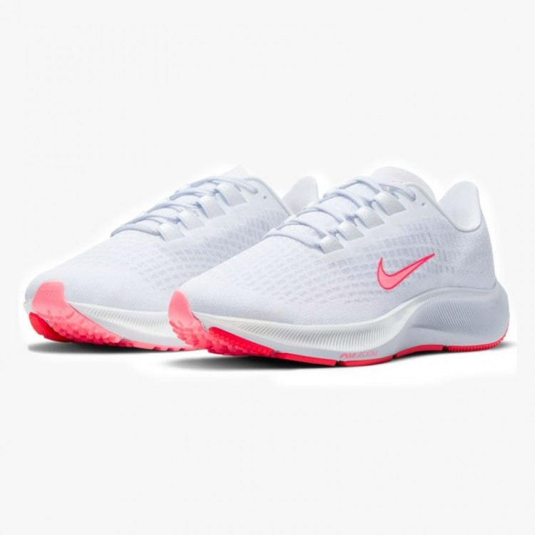 NIKE AIR ZOOM PEGASUS 37 W WHITE/RED