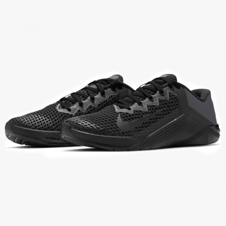 NIKE METCON 6 ALL BLACK