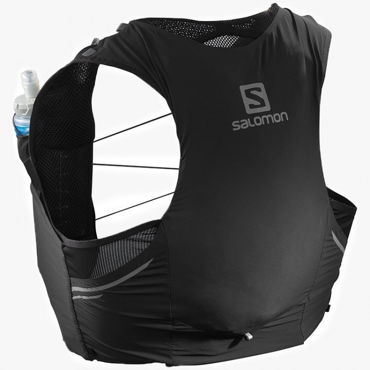 MOCHILA SALOMON SENSE PRO 5 SET BLACK EBONY