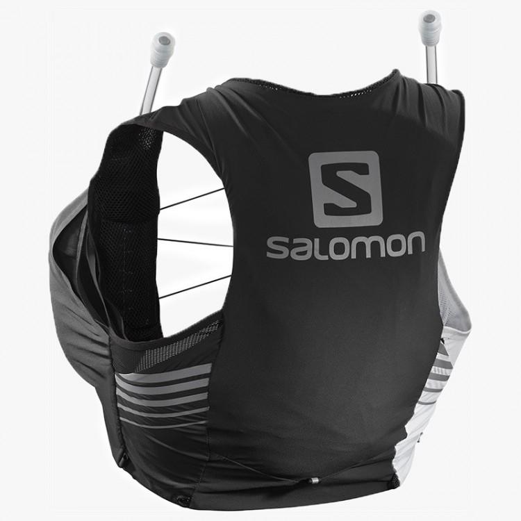 MOCHILA SALOMON SENSE 5 SET W BLACK WHITE