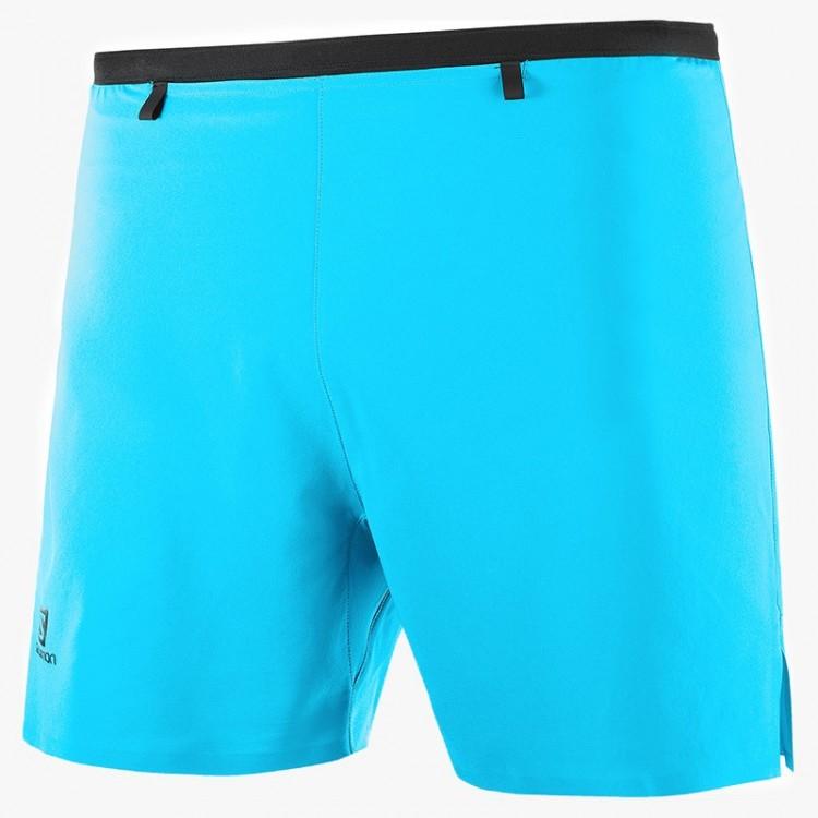 SALOMON PANTS SENSE 5 SHORT BLUE
