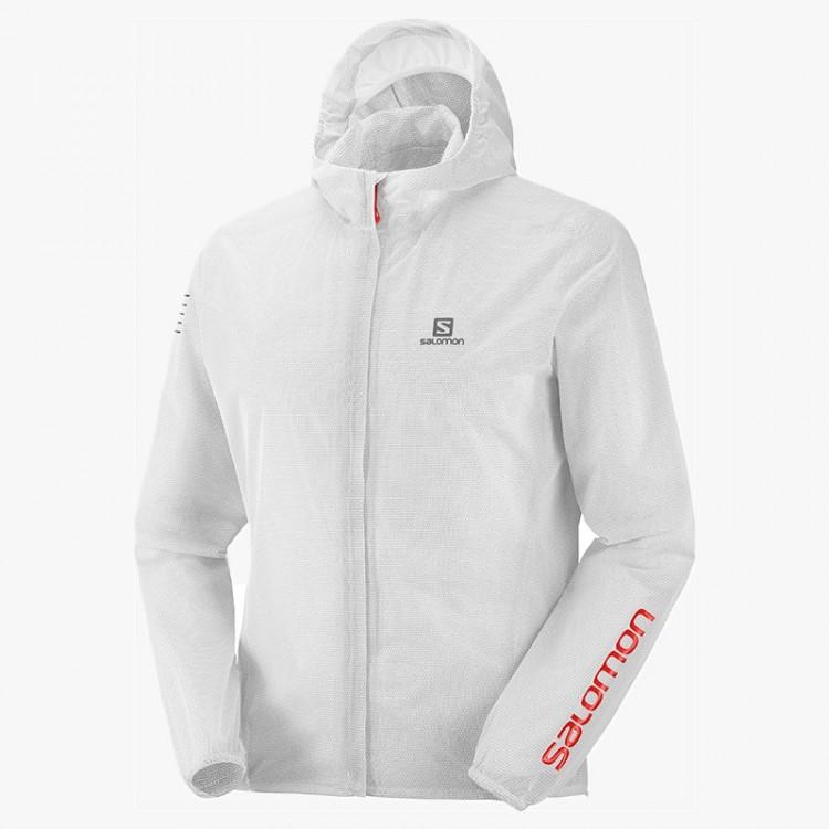 SALOMON BONATTI RACE WP JKT WHITE/RED