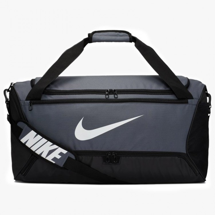 NIKE BRASILIA DUFFLE BAG 9.0 GRAY