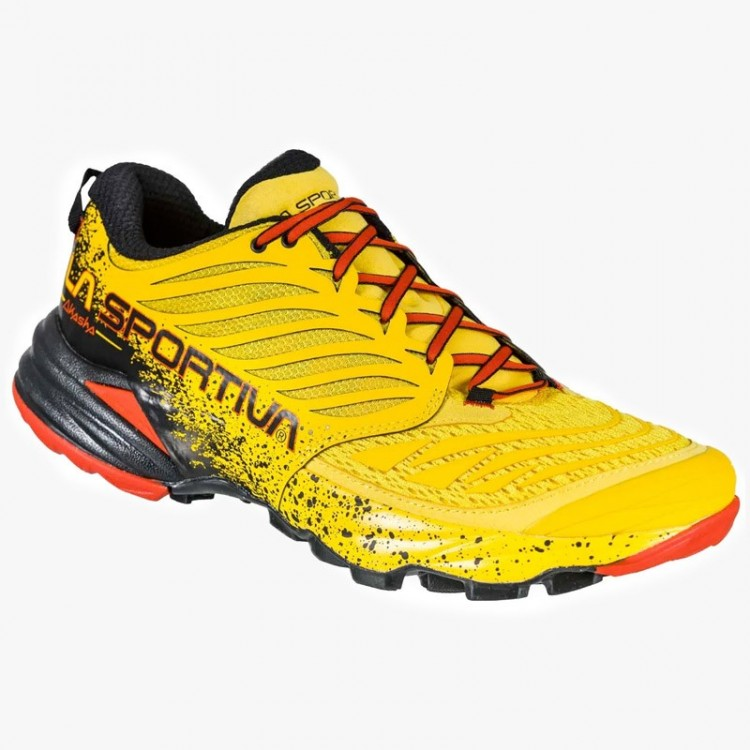 LA SPORTIVA AKASHA YELLOW RED