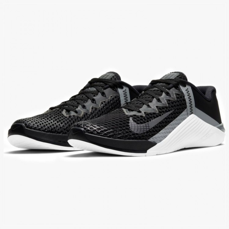 NIKE METCON 6 BLACK/WHITE