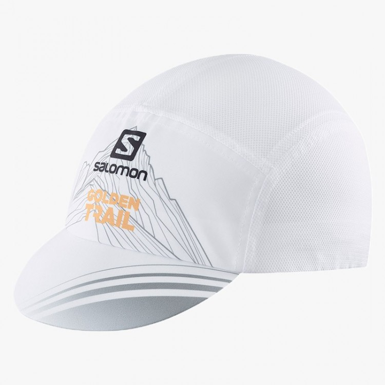 SALOMON AIR LOGO TRAIL GOLD CAP