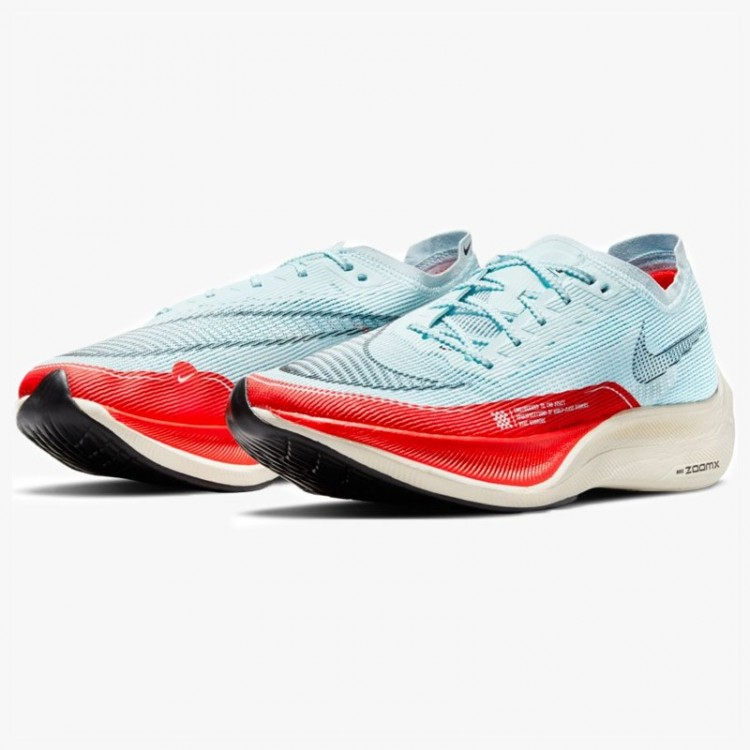 NIKE ZOOMX VAPORFLY NEXT% 2 BLUE/RED