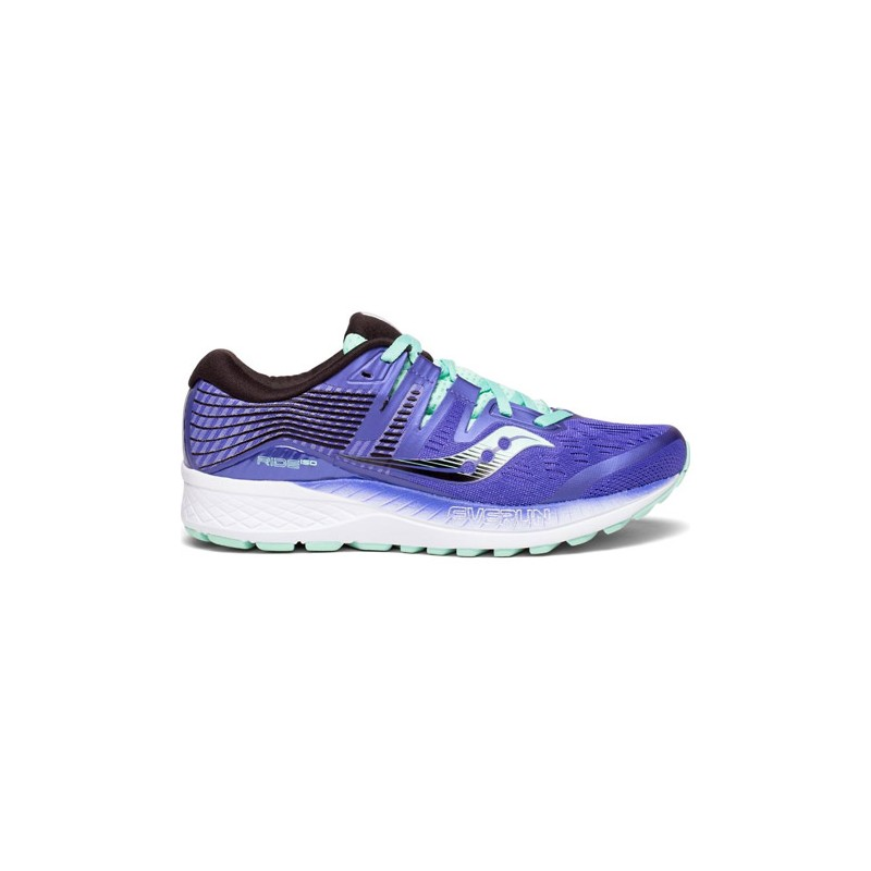 Saucony Ride ISO Purple Women's Running Shoes B101