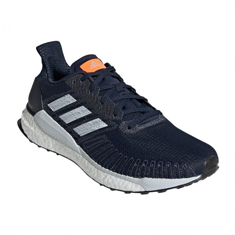 ADIDAS SOLAR BOOST 19 GREY / ORANGE