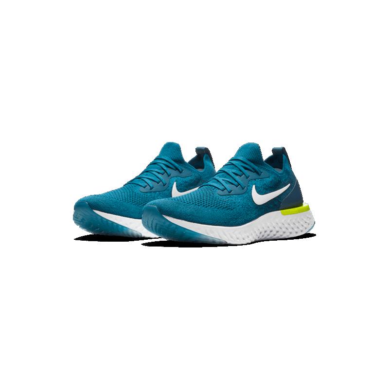 5365e628509e5 Las zapatillas de running Nike Epic React Flyknit para hombre te ofrecen  una comodidad suave. El diseño se optimiza con la parte superior Flyknit y  la ...