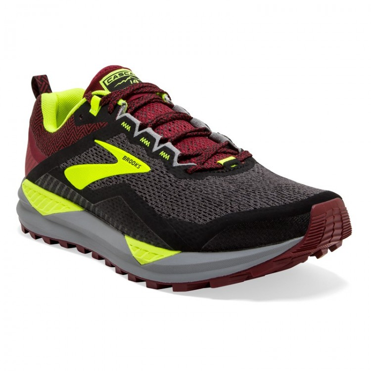BROOKS Cascadia 14 GREY / LIMA