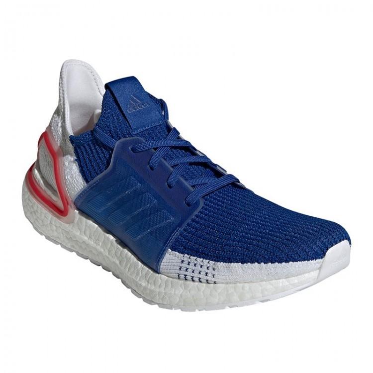 ADIDAS UltraBOOST 19 BLUE / WHITE