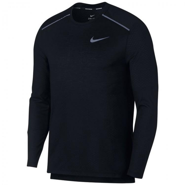 CAMISETA M/L Nike Rise 365 NEGRO