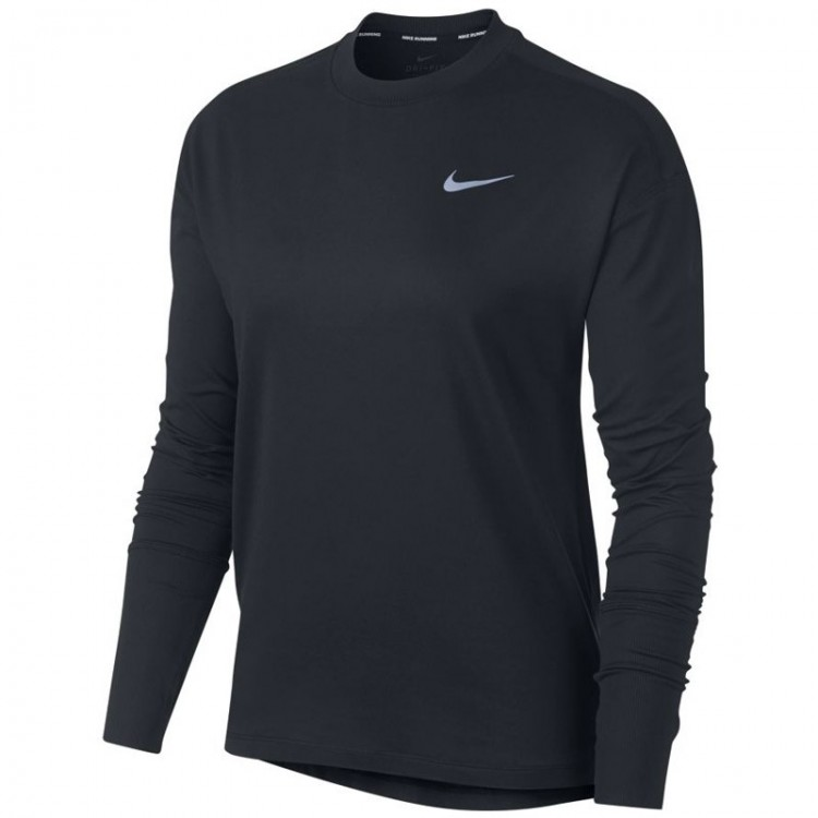 CAMISETA NIKE ELEMENT W NEGRA