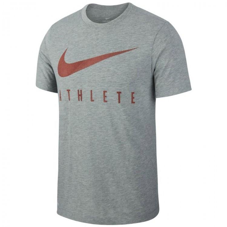NIKE ATHLETE GREY T-shirt