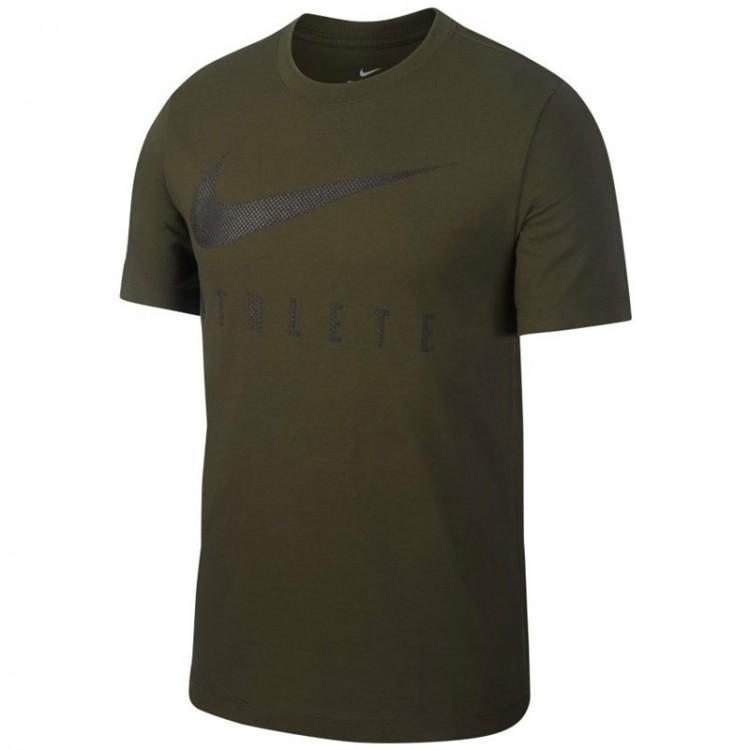 NIKE ATHLETE GREEN T-shirt