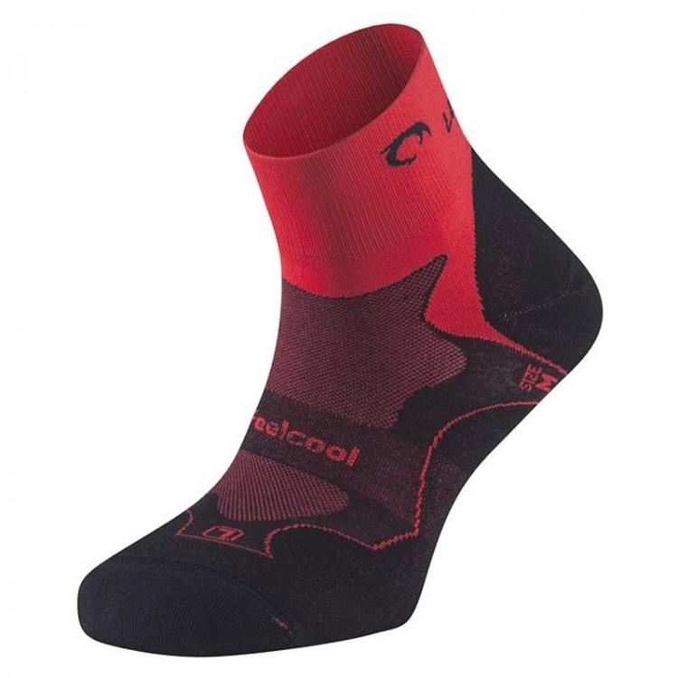LURBEL CHALLENGE SOCKS RED/BLACK