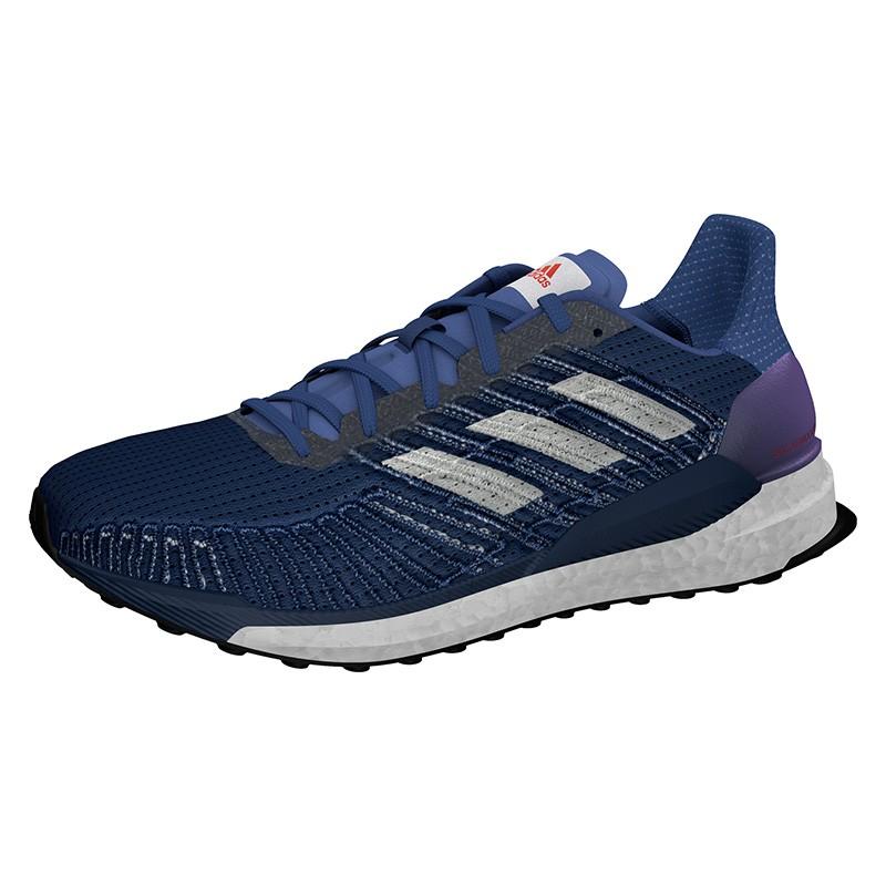 ▷ Adidas solar boost 19 azul lila por SOLO 111,97 €