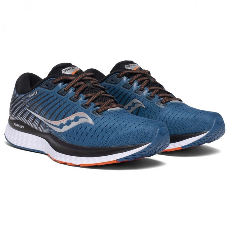 SAUCONY GUIDE 13 BLUE / SILVER