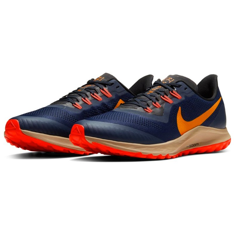 ▷ Nike air zoom pegasus 36 trail azul naranja por SOLO 119,60 €