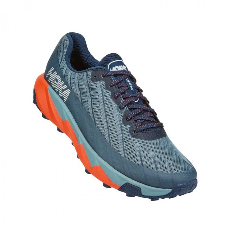 HOKA TORRENT GREY / ORANGE