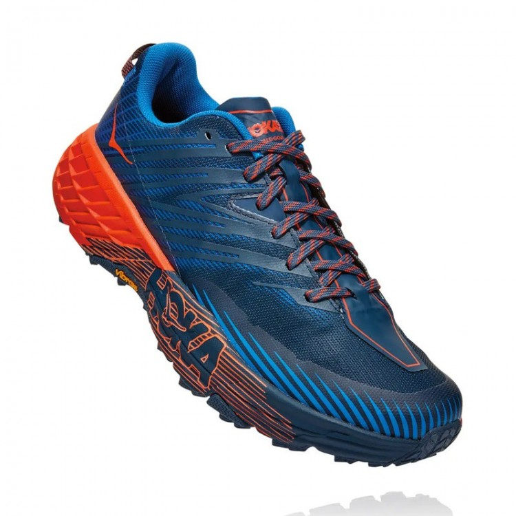 HOKA SPEEDGOAT 4 BLUE