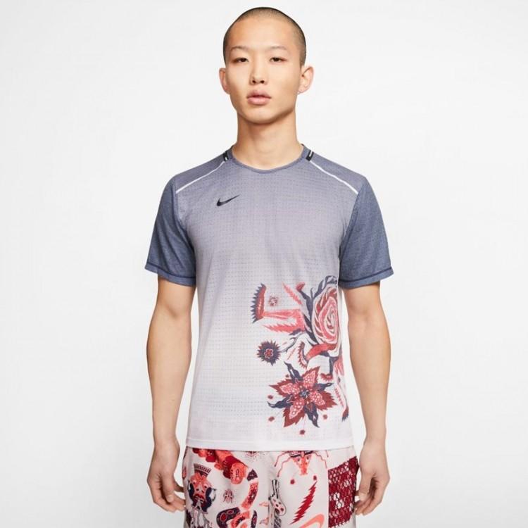 Nike Rise 365 T-SHIRT GREY
