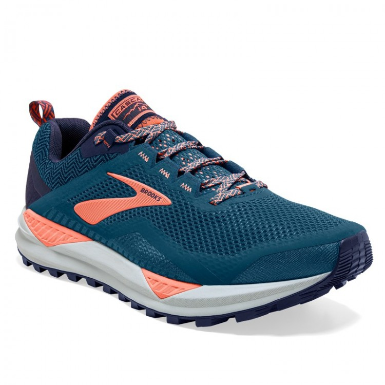 BROOKS Cascadia 14 W BLUE / CORAL