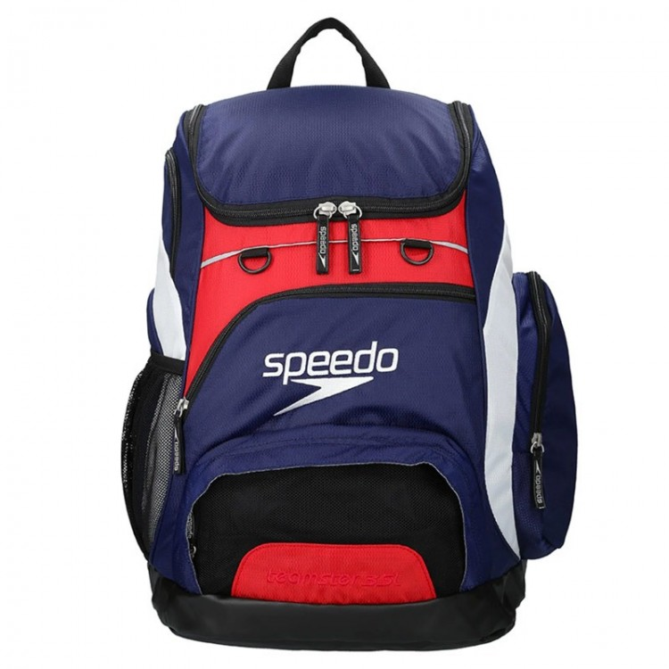 BACKPACK 35L BLUE/RED