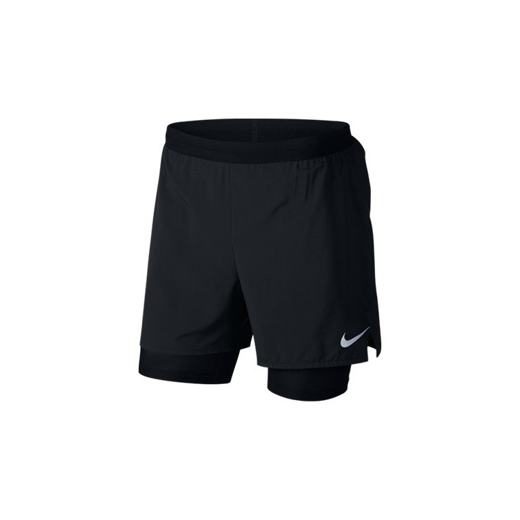 Nike Distance 2 en 1 NEGRO