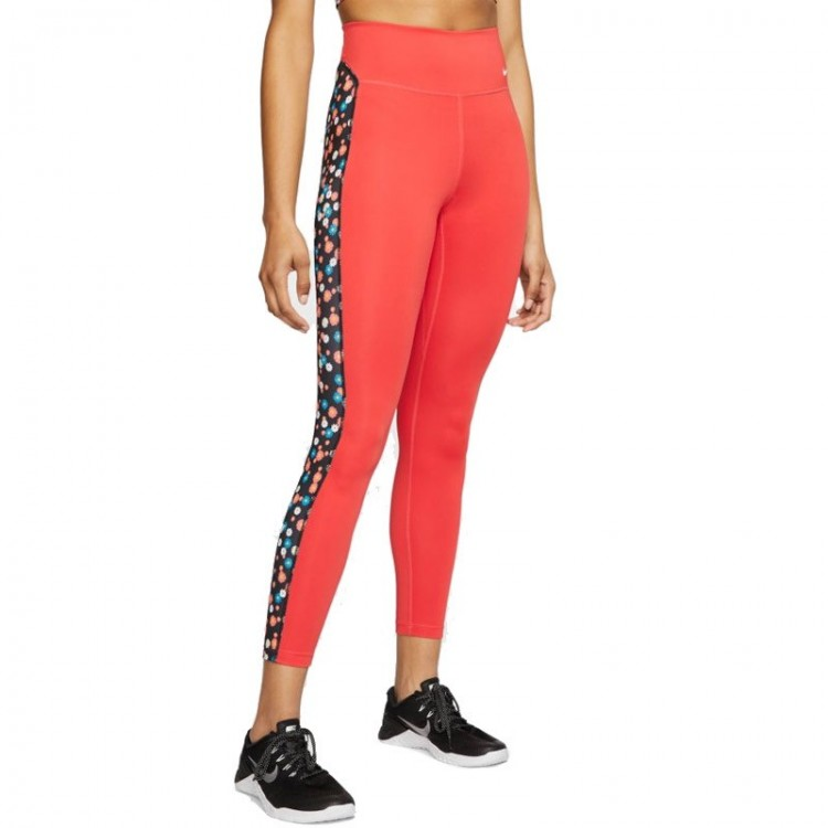 TIGHTS NIKE ONE WMNS RED